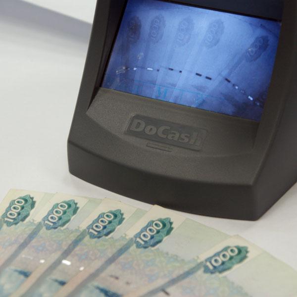 Купить Детектор банкнот DoCash Lite