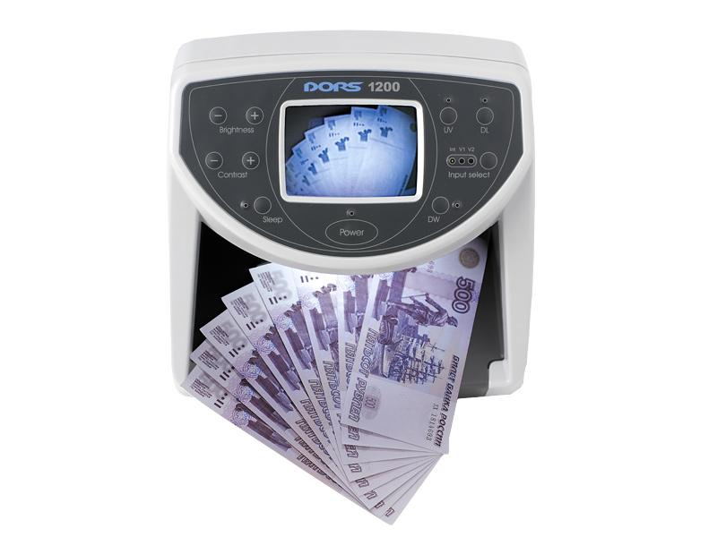 Купить Детектор банкнот DORS 1200